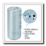Secador de alumínio personalizado do filtro para o auto condicionamento de ar 60*148