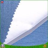 Tissu visqueux de rideau en polyester tissé par arrêt total enduit imperméable à l'eau à la maison de franc de textile