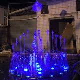 De muzikale Dansende Fontein van het Water van het Roestvrij staal van de Fontein