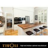 Обыкновенный толком белый изготовленный на заказ шкаф кладовки кухни для Австралии Tivo-0266h