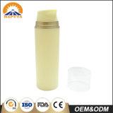 Bottiglia senz'aria gialla dei pp per cura di pelle