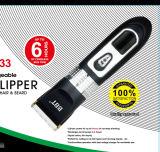 Tosquiadeira e ajustador recarregáveis sem corda de cabelo para Rpo