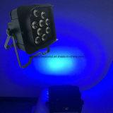 Nieuwe Aankomst het Licht van het 15 LEIDENE Op batterijen van de Brede Waaier 12*15W 6in1 Rgbaw van de Graad Draadloze PARI van Freedoom voor de Partij van de Gebeurtenis