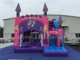Bouncer divertente gonfiabile che salta castello congelato, castello congelato gonfiabile
