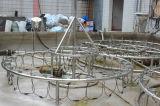 Saudia árabe diámetro de 2,5 m fuente de baile del jardín del agua
