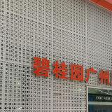 Feuille en aluminium perforée pour la décoration d'écran de façade