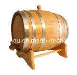 Barilotti di vino di legno Port unici 10L con gli accessori del vino