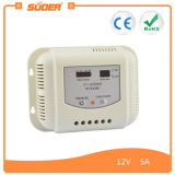 Controlador solar portátil da carga de Suoer 5A 12V (ST-G1205)