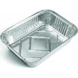 Recipiente de papel de aluminio para uso doméstico / de cocina / Uso de restaurante