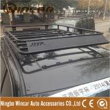 ジープGrangチェロキー08-14のための車のルーフラックの手荷物棚の貨物ラック