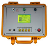 Appareil de contrôle de résistance d'isolation, mètre d'ohm de Digitals, Megger intelligent