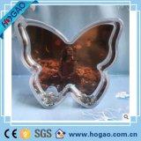 Bille acrylique de l'eau de forme de fleur de globe de neige de bâti de photo