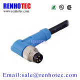 Rechtwinkliger elektrischer Kreisverbinder kontaktbuchseund Stecker2/3/4/5/6 Pin-Sensorm8