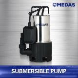 Eficiencia de drenaje y alta calidad de rodamiento Inox bomba sumergible