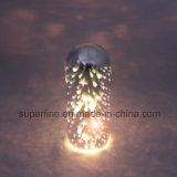 Éclairage LED en gros électronique en verre de Deco 3D de Noël de belle batterie multifonctionnelle romantique