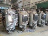 Gas & generatore di vapore verticale a petrolio di 80 kg/h