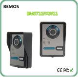 """7 de """" Doorbell video Recordable sem fio do cartão do telefone 4G SD da porta TFT-LCD"""