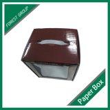 Scatola di cartone stampata colore con la finestra del PVC