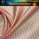 Tela rosada/blanca de la raya para la guarnición de los juegos de las mujeres