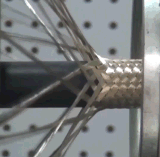 Macchina dell'intrecciatura del collegare dell'acciaio rapido