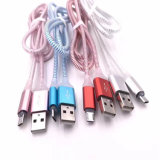 5V 2.1A LED Light USB Charger Cable voor All Smart Phone