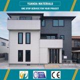 Edificio de la estructura de acero con el panel concreto ligero hecho en China