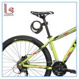 초대 장착 브래킷을%s 가진 재시동할 수 있는 조합 케이블 자전거 자물쇠