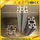 A fábrica de alumínio expulsou perfil industrial anodizado do alumínio do entalhe de T