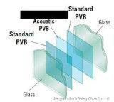 Verre feuilleté acoustique de PVB (épreuve saine)