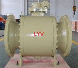 16 pouces - robinet à tournant sphérique pneumatique de prix bas de haute qualité pour le pétrole et le traitement des eaux