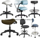 Base de aluminio de las piezas de recambio de la silla para la silla del cuidado médico o el taburete médico
