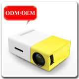 1080P Pocket Size LED Light Mini LCD Projector with Rich Interfaces