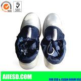 Ботинки безопасности PU голубого пальца ноги ESD промышленного стального единственные