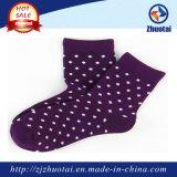 Filetto coperto di gomma del latice di gomma del filato per la manopola del ginocchio dei calzini