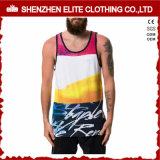 Venda Por Atacado Summer Cool High Quality Sublimation Printing Tank Tops (ELTMBJ-472)