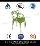 Hzpc155 het Nieuwe Ontwerp van de Kromme van Plastic Stoel