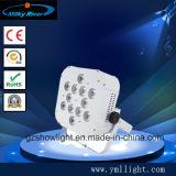 lumière PAR64 en plastique plate de la lumière de PARITÉ de Chambre en plastique de 7PCS DEL la mini/DEL/évaluent mieux la PARITÉ DEL de la Chine