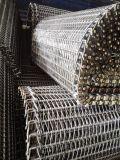 Correia do engranzamento do metal para a transformação de produtos alimentares de Freezering