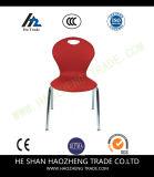 Hzpc024 Stoel van de Stapel van de Ontwerper van de Capaciteit de Zwarte Plastic met Zwart Frame