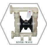 물 처리 공기에 의하여 운영하는 펌프