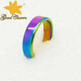 Reator de alta temperatura - anel magnético colorido da forma da jóia de 001A 6mm