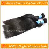 Pelo humano recto del pelo de Remy de la Virgen de la extensión brasileña del pelo