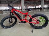 2017 bici eléctrica del último neumático gordo MTB con la batería del marco