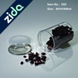 O alimento barato do animal de estimação plástico vazio quente da venda pode cancelar o frasco do frasco do alimento