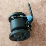 150lb 300lb a modifié le robinet à tournant sphérique en acier d'extrémité de connexion de la bride A105