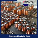 Покрынный эмалью медный одетый алюминиевый провод замотки CCA провода