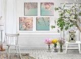لوح متعدّد يدهن فنّ بيتيّة زخرفة نوع خيش صورة زيتيّة لأنّ يعيش غرفة