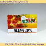 Pizzeria 할인 카드를 위한 풀 컬러 PVC 자석 줄무늬 카드