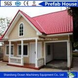 Casa prefabricada del más nuevo estilo moderno, casa modular móvil de la estructura de acero ligera