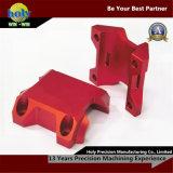 カスタム自転車の茎CNCのアルミニウム部品赤い陽極酸化CNCの製粉の部品